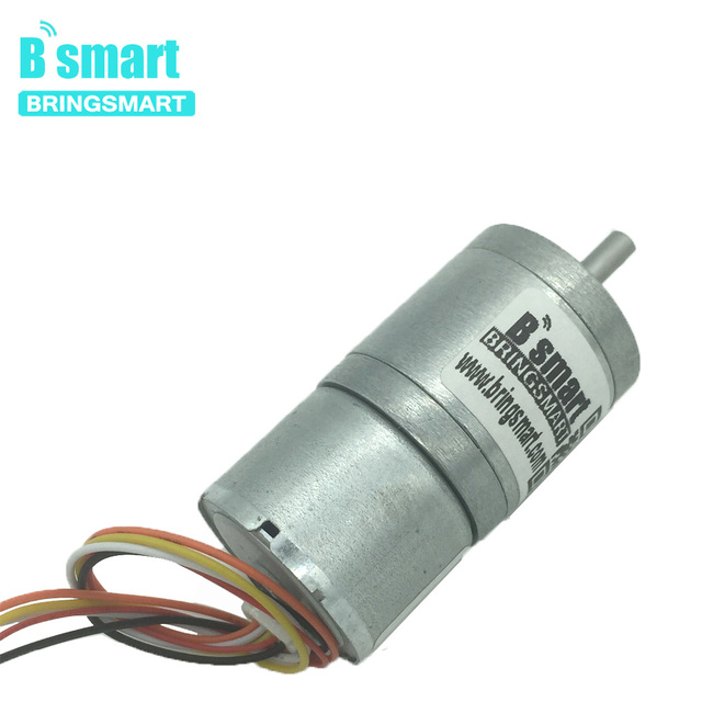 Bringsmart Jga25 2418 Brushless Gear Dc Motor 12v Mini 24v Electric Reductor Adjule Sd Controller Hair Curler