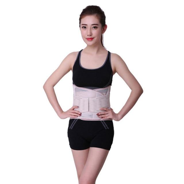 Lumbar Back Spinal Spine Waist Brace Support Belt Corset Stabilizer Cincher Tummy Trimmer Trainer Weight Loss Slimming Belt 2