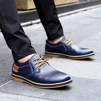NORTHMARCH New Men Flats Casual Leather Shoes Men Fashion Lace Up Oxford Shoes For Men Dress Office Shoes Men Chaussure Homme