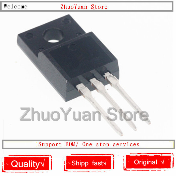 5PCS/lot  FCPF22N60NT FCPF22N60 22N60 TO-220F 600V 22A