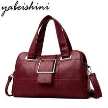 купить Women's handbag Female leather shoulder bag luxury handbags women bags designer women bag over shoulder sac a main Ms tote bag дешево