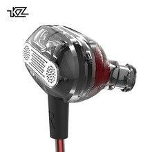 KZ ZSE динамический двойной драйвер наушники вкладыши гарнитура мониторы шум изоляции HiFi музыка Спортивные Большой Discou