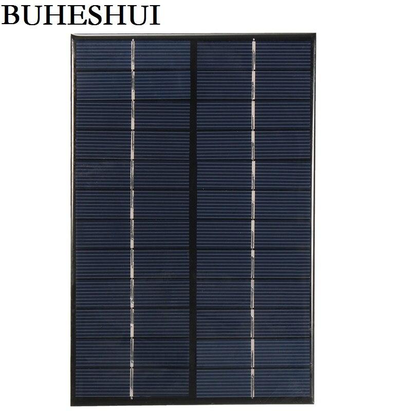 BUHESHUI 4.2Watt 12V Mini Solar Cell Module Polycrystalline Solar Panel DIY Solar Charger 200*130*3MM High Quality FreeShipping