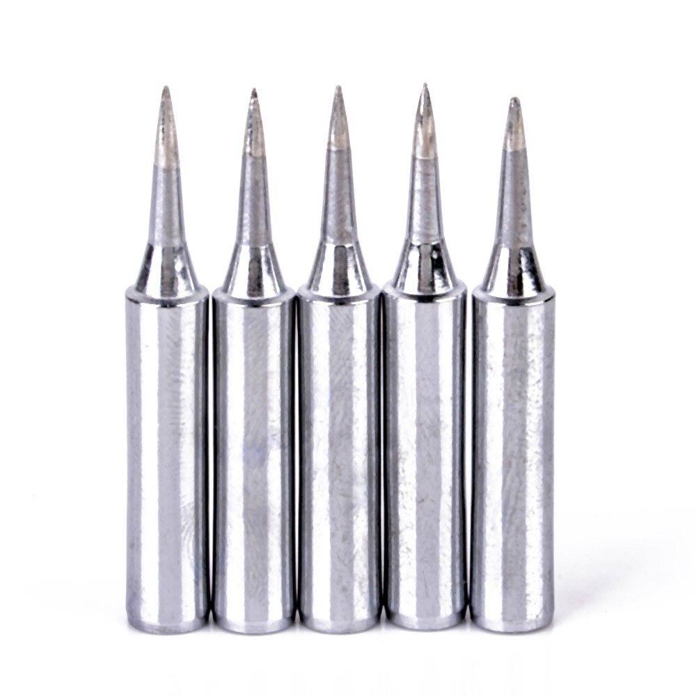 5pcs Replacement Soldering Iron Tips 900m-T-I Lead Free Soldering Iron Tips For Solder Station Tools