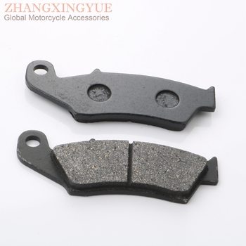 Front brake pads for HONDA CR125 250 500 Cre125 250 450 CRF150 230 450 Crm250 Ctx 200 Nx 125 r 400 225100920 225100923 AF125 image
