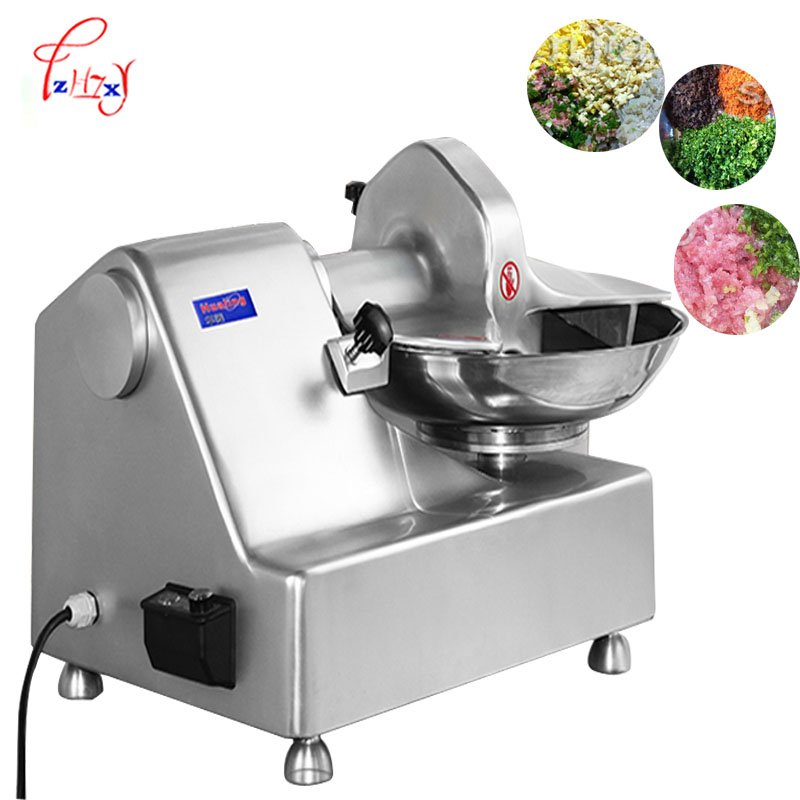 Broyeur de légumes à viande commercial mélangeur 8L mélangeur multifonctionnel hachoir à viande broyeur de légumes 550 W HLQ-8