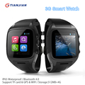 X01 Smart Watch Android Bluetooth Smartwatch With GPS Tracker Dual Core 3G Wrist Watch Support Sim Card Wifi Camera PK ZGPAX S8