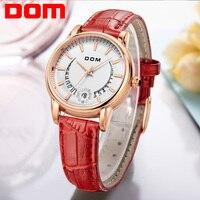 Comparar Relojes casuales para damas de moda de marca de lujo reloj con correa de cuero horas reloj de cuarzo para mujer flores reloj de pulsera femenino G-1698