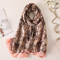 hot 2018 new brand Literary retro women <font><b>scarf</b></font> spring summer silk <font><b>scarves</b></font> shawls and <font><b>wraps</b></font> lady beach stoles hijab foulard