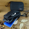 GUANHE Large Double Layer Cable Organizer Bag Carry Case can put HDD USB Flash Drive