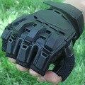 Деформация волшебной перчатки мужские половина относится к тактические кожаные спортивные принадлежности военные фанаты скольжения спорта на открытом воздухе езда