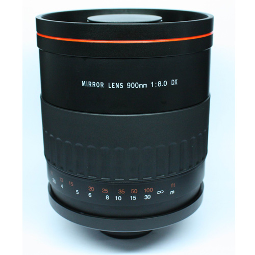 Téléobjectif miroir 900mm f8 T pour appareil photo Olympus E410 E620 E510 E520 E30 SP-570