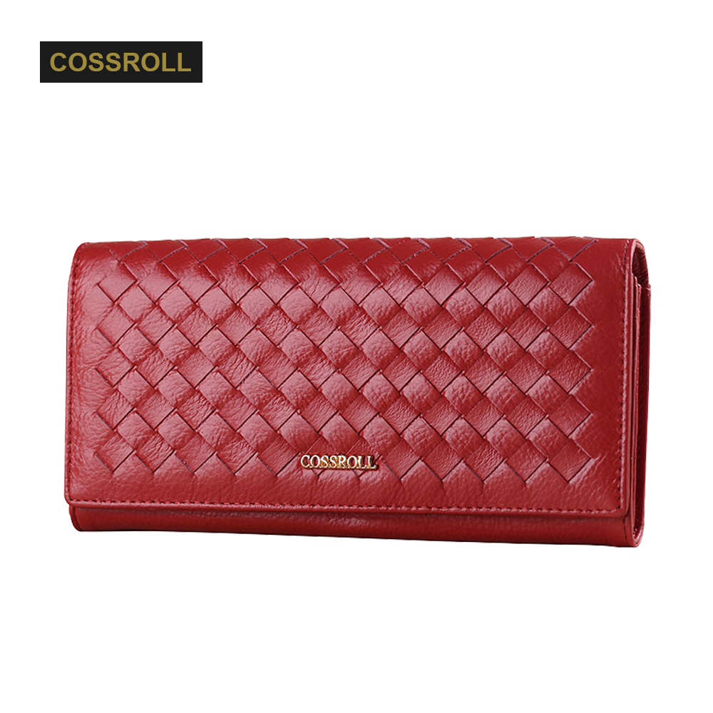 Genuine Leather Women Wallets Luxury Brand 2017 New Design High Quality Fashion Girls Purse Card Holder Long Clutch Coin Bag joyir embossed flowers genuine leather women wallets brand design fashion long purse clutch coin purse card holder lady female27