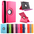 360 Degree Rotated Protection PU Leather Smart Case For Ipad Mini 1 2 3  Mounts Stand Holder Book Cover For Ipad Mini Series