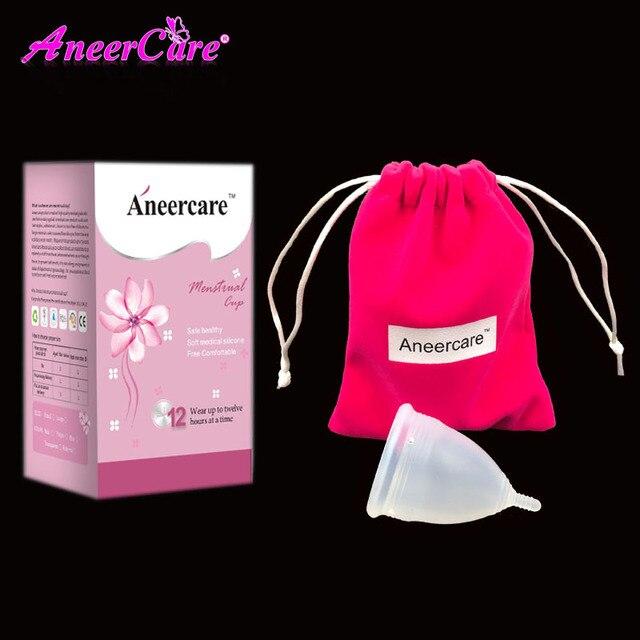 Aneercare Medical Grade Silicone Menstrual Cup FDA Soft Diva Cup Coppetta Mestruale Coupe Menstruelle Feminine Hygiene Product