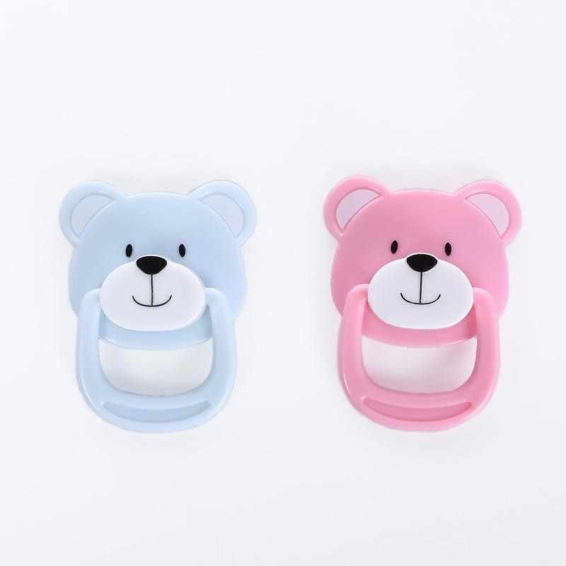20 Pcs/lot Lovely Bear Magnetik DOT untuk Reborn Bayi Baru Lahir Boneka Buatan Tangan DIY Dot Magnet Puting
