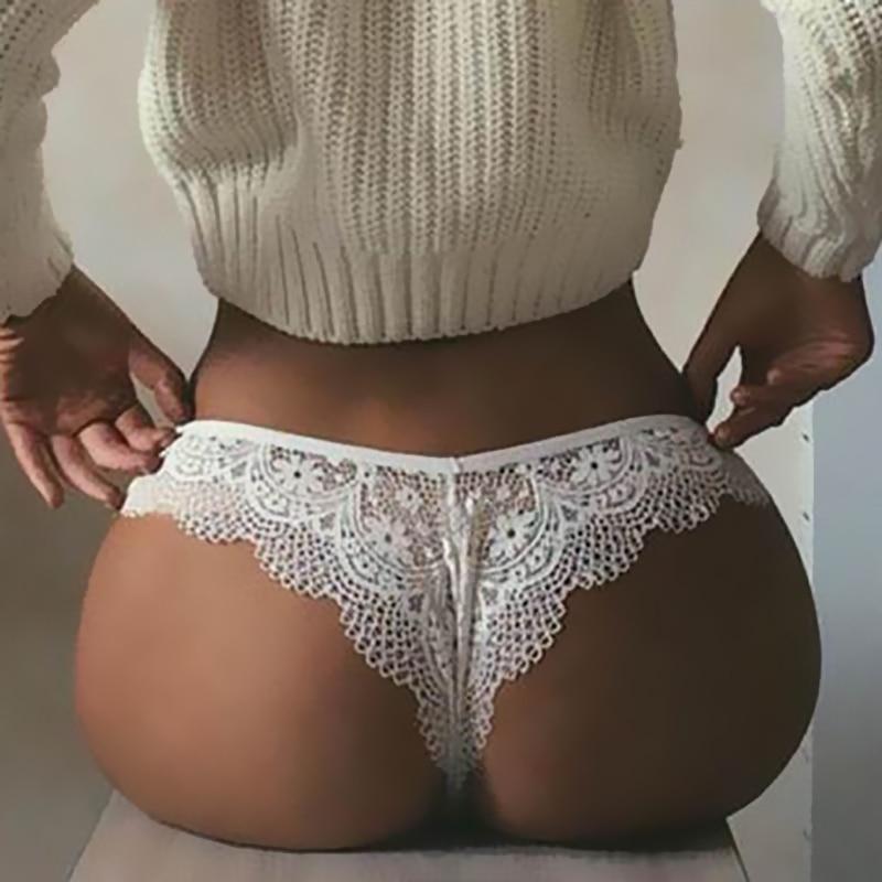 Sexy Lace Panties Underwear Women Female Underwear Floral Lace Women Panties Breathable Ladies Low Waist Transparent Briefs Hot