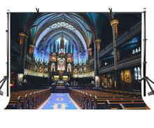 150x210cm Notre Dame Cathedral Backdrop Montreal Religious Photography Background
