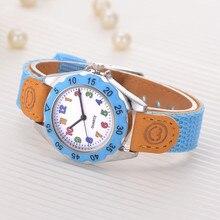 Kids Girls' Fashion Colorful Strap Arabic Number Sport Quartz Wrist cute design and great workmanship  Watch Women Clock reloj