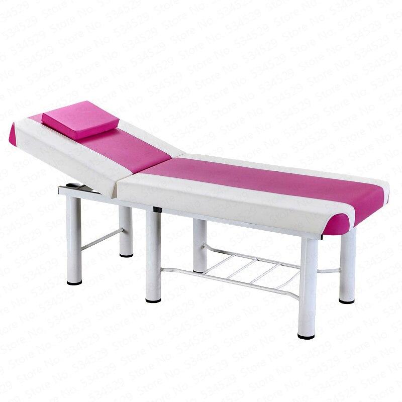Lit de Massage de haute qualité lit de Massage de broderie de tatouage de lit de Massage de beauté avec le lit simple réglable d'unité centrale de 6 pieds