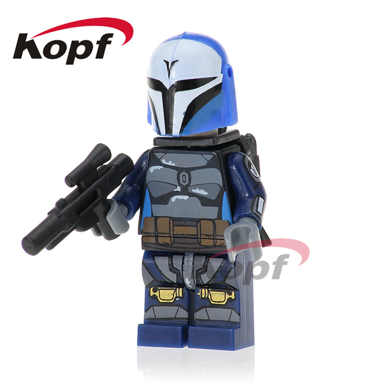 20Pcs Building Blocks Star Wars Clone Trooper The Force Awaken Darth Raven With Red Lightsaber Bricks Children Gift Toys PG743