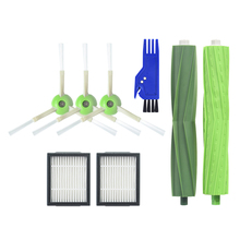 1 Set Multi Surface Brush 3 Side 2 High Efficiency Filters For Irobot Roomba I7 I7+ Plus E5 E6 E7 Series - Vacuum Cle