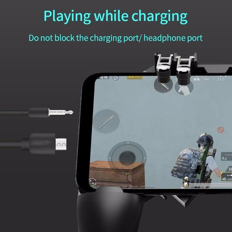 Ak66 Pubg Mobile Controller Gamepad Gaming Phone Pupg Triggers Free Fire Pugb Mobile Joystick Control For iOS Android Smartphone Islamabad