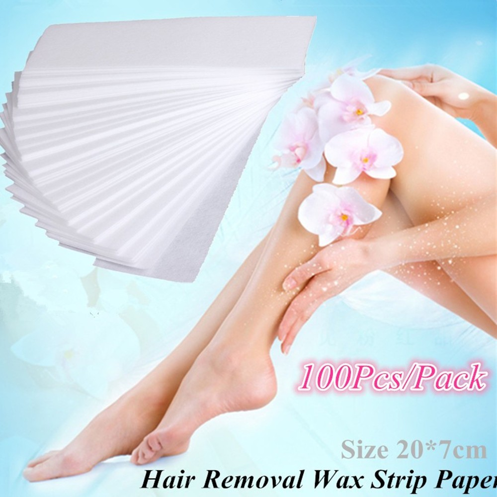 REBUNE 100Pcs/Pack Pro Hair Removal Depilatory Paper Non-woven Wax Paper Waxing Strips for Personal Hair Remover Heater Roll On original for toshiba satellite a665 a660 laptop motherboard mother board k000104390 nwqaa la 6062p 100% test ok