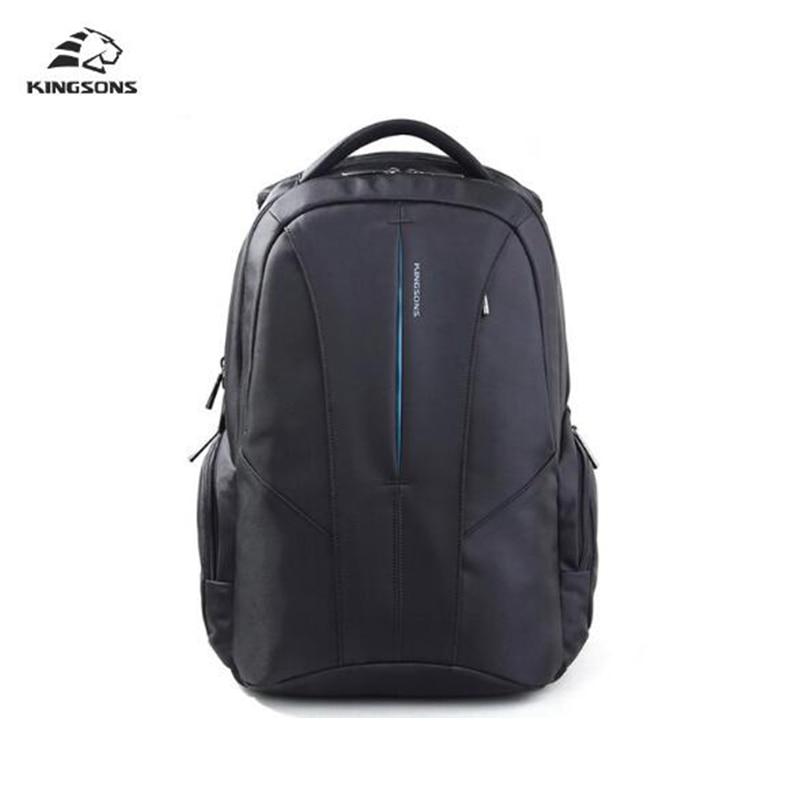 Kingsons Laptop Backpack Men's Bag Multifunction Rucksack Large Capacity Anti-theft Waterproof Moch 15.6 inch