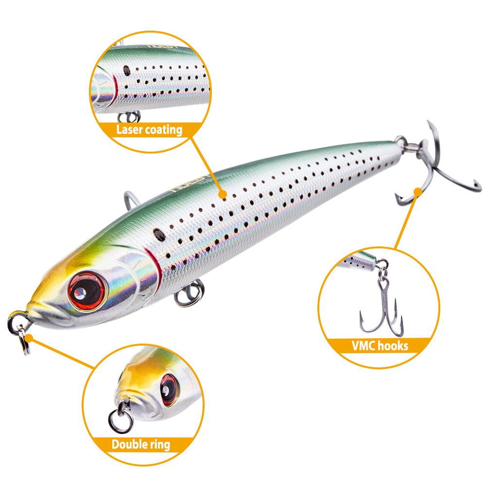 ALI shop ...  ... 32898246139 ... 2 ... NOEBY NBL9062 Pencil Baits Lure seawater fishing lure 140mm 160mm 180mm Sinking Wobbler Bass Isca Artificial Para Pesca Tackle ...