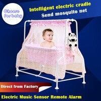 Sallei Электрический детская кроватка колыбель кровать умный ребенок кровать Concentretor москитная сетка стул Колыбель стул висит гамак