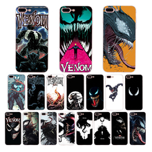 Marvel Venom Soft silicone mobile phone case for iphone xs max x xr 8 7 6s 6 plus 5s se 5 TPU cool Anime Cellphones cover shell цена и фото