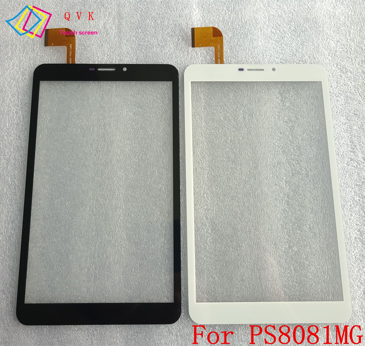 Blcak White 8 inch Touch Screen For DIGMA Plane E8.1 3G PS8081MG Tablet Touch Panel digitizer glass Sensor Replacement