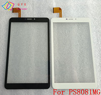 Blcak Wit 8 Inch Touch Screen Voor Digma Plane E8.1 3G PS8081MG Tablet Touch Panel Digitizer Glas Sensor Vervanging