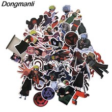 50pcs NARUTO funny DIY decal Scrapbooking for home decor wall notebook phone luggage laptop bicycle album stickers M2651(China)