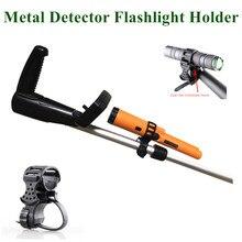 Metal Detector Flashlight Holder POINTER / *MOUNT Suitable for All Kinds of Underground Detectors
