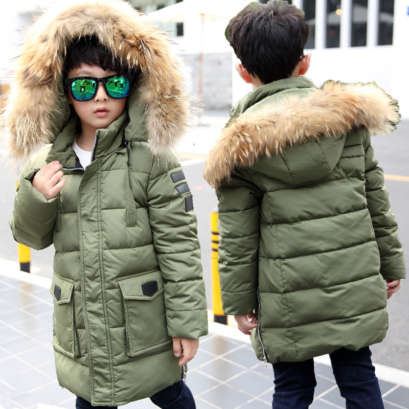 New Winter Jackets For Boys Fashion Boy Thicken Snowsuit youth Children Down Coats Outerwear Warm Tops Clothes Kids Clothing 2017 new winter jackets for boys fashion boy thicken snowsuit children down coats outerwear warm tops clothes big kids clothing