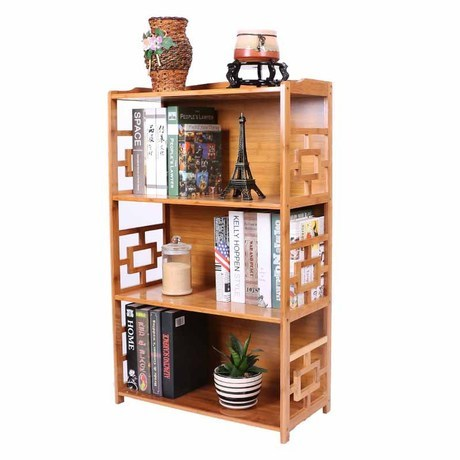 Bookcases Living Room Furniture Home Furniture Solid Wood Bamboo