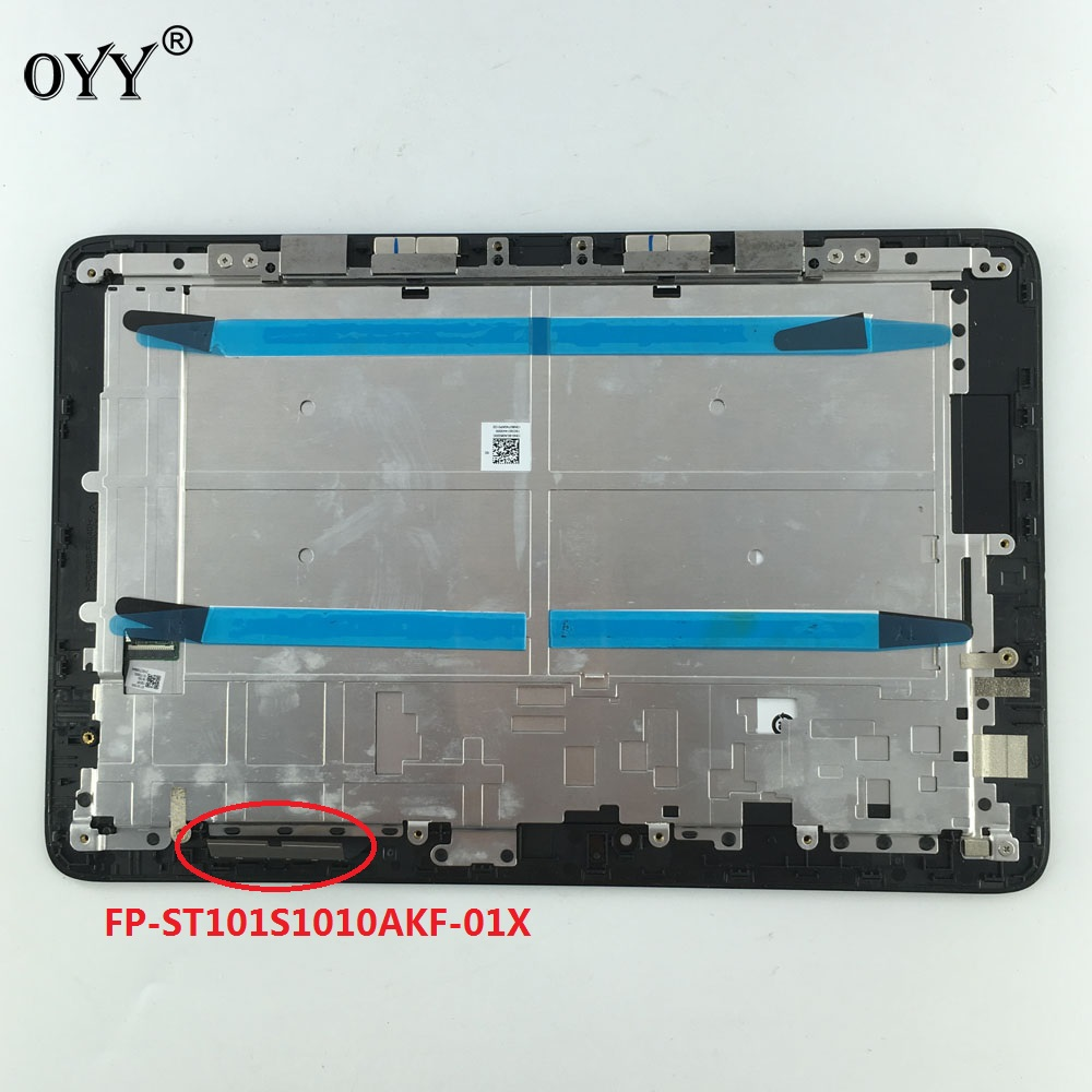 10.1 inch LCD Display Touch Screen Panel Digitizer Frame Assembly For ASUS Transformer Book T100H T100HA FP-ST101SI010AKF-01X 11 6 lcd display monitor touch panel screen digitizer glass assembly with frame for asus transformer book t200 t200ta