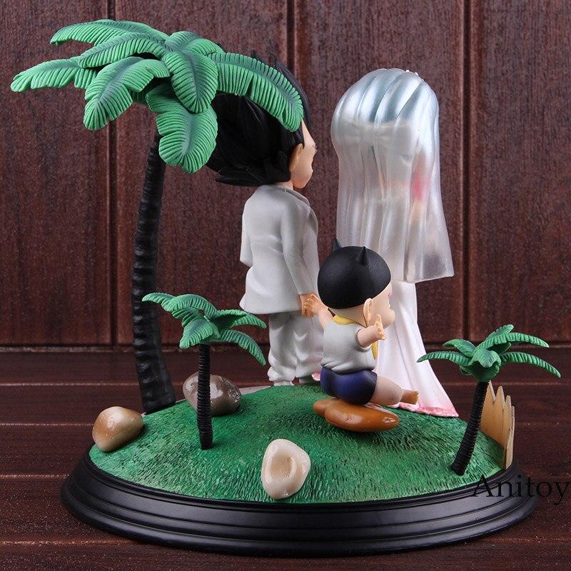 Игрушка из аниме Dragon Ball Vegeta & Bulma свадебный день ПВХ Статуя Фигурка Коллекционные Фигурки игрушки Dragon Ball Набор - 4