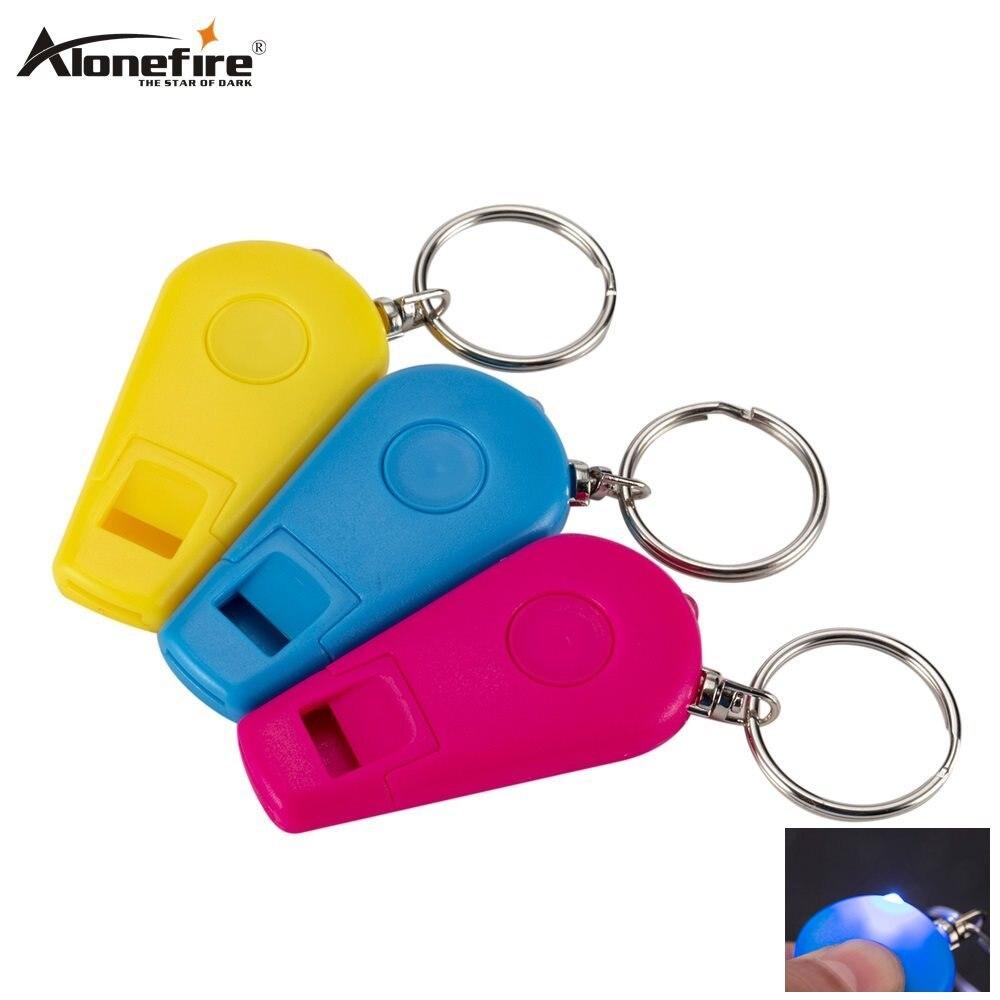 10pcs Mini Super Bright Light LED Flashlight Key Ring Keychain Lamp Torch Hiking