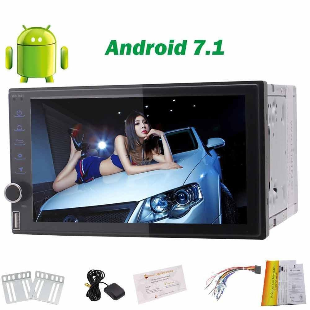 2Din Android 7.1 car styling cassette Stereo NO DVD Player In Dash GPS Navigation Car Radio Audio Support 3g 4g Bluetooth/WiFi