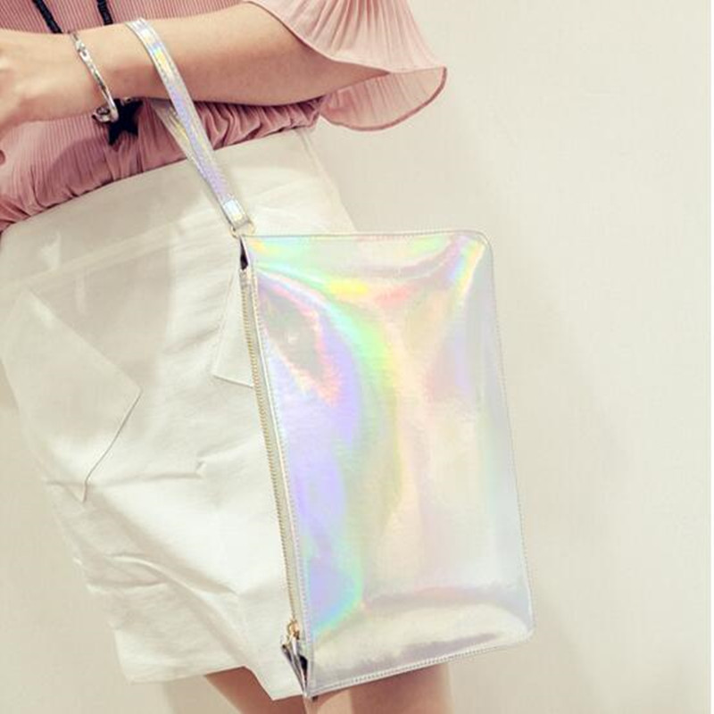 Laser tassen bolsas feminina bolsos mujer handtas clutch sac a main - Handtassen - Foto 5