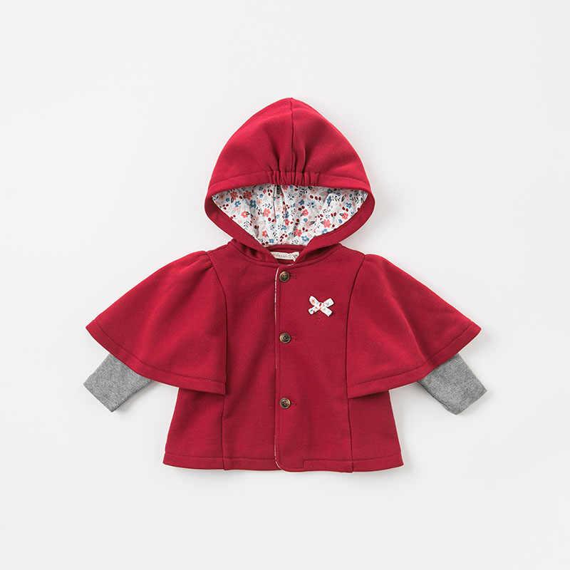 DBM8638 דייב bella סתיו חורף תינוקות בייבי בנות מעיל פעוט סלעית מעילי ילדי הלבשה עליונה באיכות גבוהה