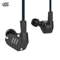 KZ ZS6 2DD+2BA HIFI Bass Headset Sport In ear Earphone Dynamic Driver Noise Cancelling Headset Replacement Cable as10 AS10