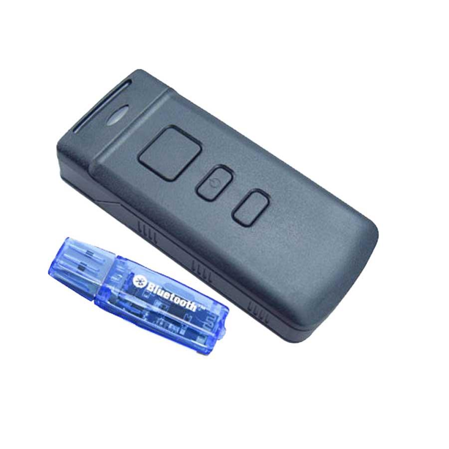 a571b00d756bb Portátil Sem Fio Bluetooth Barcode Scanner CCD PT20 Para Celular tablet PC