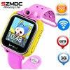 Original JM13 3G Smart Watch Camera GPS LBS WIFI Kids Wristwatch SOS Monitor Tracker Alarm For