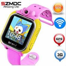 Оригинальный jm13 3 г Смарт-часы Камера GPS фунтов WI-FI детские наручные SOS Мониторы трекер сигнализации для IOS Android SmartWatch PK Q90 Q50