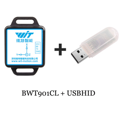 Bluetooth IMU Sensor BWT901CL 3 Axis Tilt Angle Inclinometer Accelerometer  Gyroscope Magnetometer MPU9250 Module For PC/Android