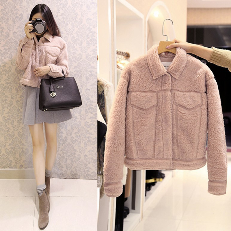 Ordifree 2019 Autumn Winter Women   Jacket   Coat Outwear Faux Fur Long Sleeve Fleece Warm   Basic     Jackets